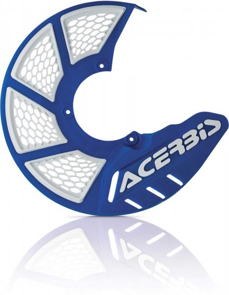 ACERBIS X-BRAKE 2.0 DISC COVER MINI BIKE BLUE-WHITE 22264.245