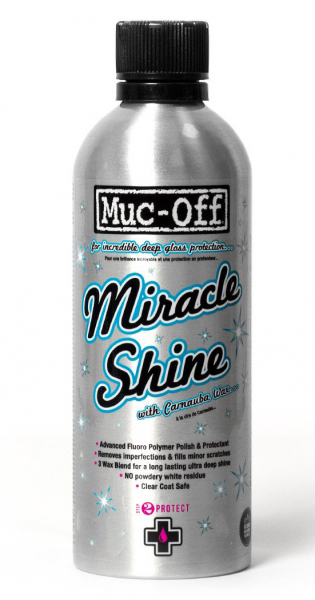 MUC-OFF MOTORCYCLE MIRACLE SHINE POLISH 500ml 947