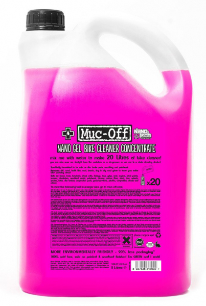 MUC-OFF MOTORCYCLE CLEANER CONCENTRATE 5 LITRE 348