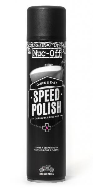 MUC-OFF MOTORCYCLE SPEED POLISH 400ml 627