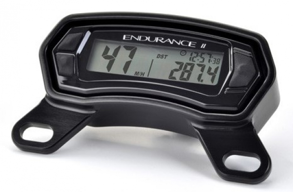 Trail Tech TRAIL TECH ENDURANCE II DIGITAL GAUGE TOP MOUNT BLACK