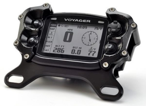 TRAIL TECH VAPOR DIGITAL GAUGE TOP MOUNT PROTECTOR BLACK 025-TM2