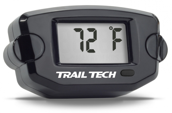 Trail Tech TRAIL TECH TTO DIGITAL TEMPERATURE GAUGE INLINE WATER 19MM