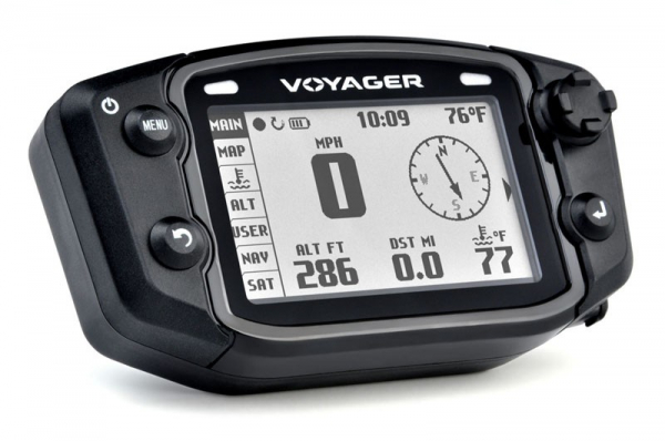 Trail Tech TRAIL TECH VOYAGER DIGITAL GPS SPEEDO GAUGE UNI DRUM BRAKE ATV 12MM SENSOR