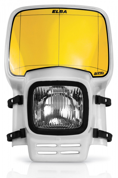 Acerbis ACERBIS HEADLIGHT ELBA WHITE