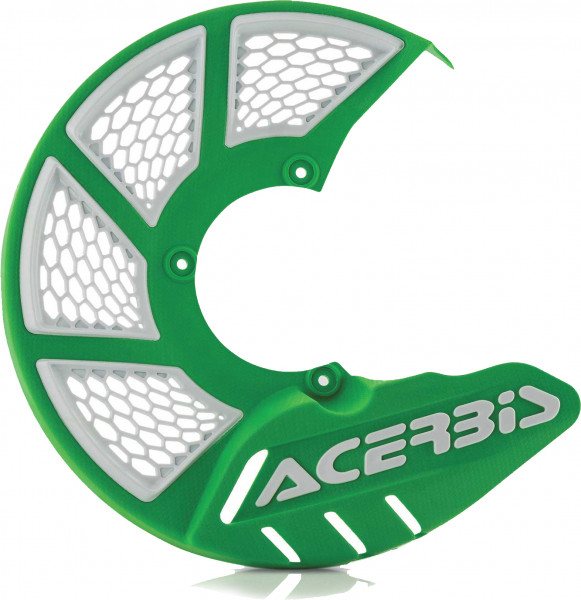 ACERBIS X-BRAKE 2.0 DISC COVER GREEN-WHITE 21846.130