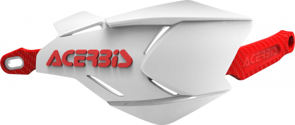 Acerbis ACERBIS HANDGUARDS X-FACTORY WHITE RED