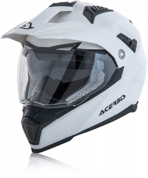 ACERBIS HELMET ADVENTURE FLIP WHITE MEDIUM Medium 22310.030.064