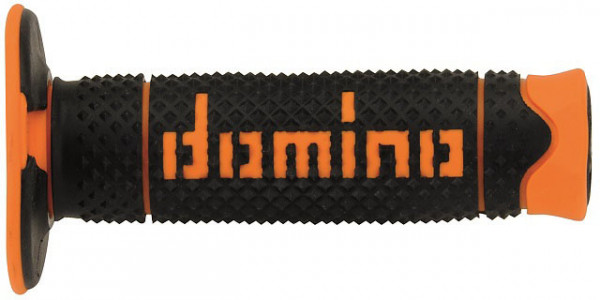 DOMINO GRIPS MX A260 DIAMOND BLACK ORANGE 6041ORBL