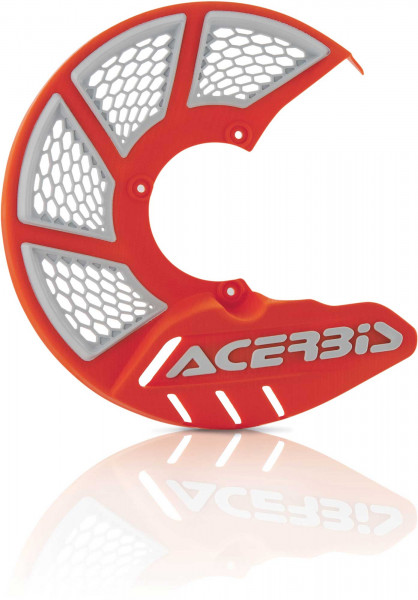 ACERBIS X-BRAKE 2.0 DISC COVER MINI BIKE ORANGE-WHITE 22264.203