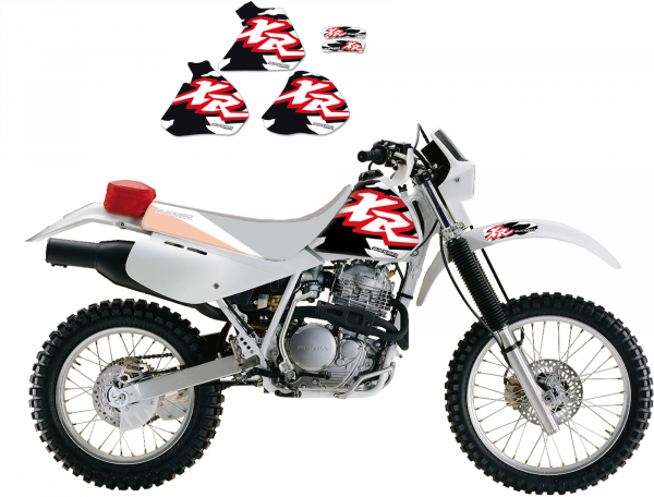 Blackbird Racing BLACKBIRD GRAPHICS KIT ORIGINAL HONDA XR 250 400 96-04