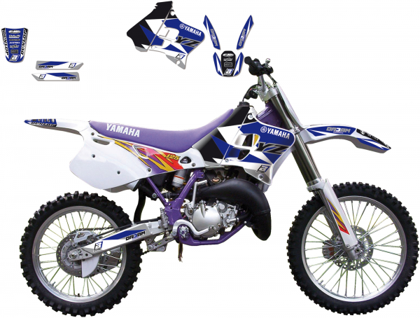 Blackbird Racing BLACKBIRD GRAPHICS KIT DREAM 3 YAMAHA YZ 125 250 93-95