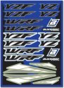 BLACKBIRD DECAL UNIVERSAL YAMAHA YZF WRF STICKER SHEET KIT B5242
