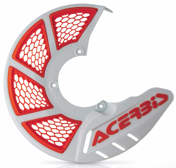 ACERBIS X-BRAKE 2.0 DISC COVER WHITE-ORANGE 21846.031