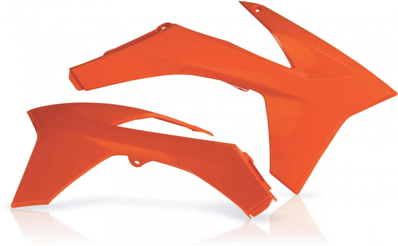 ACERBIS RADIATOR SHROUDS KTM SX SXF 11-12 EXC EXCF 12-13 ORANGE KTM SXF450 2012