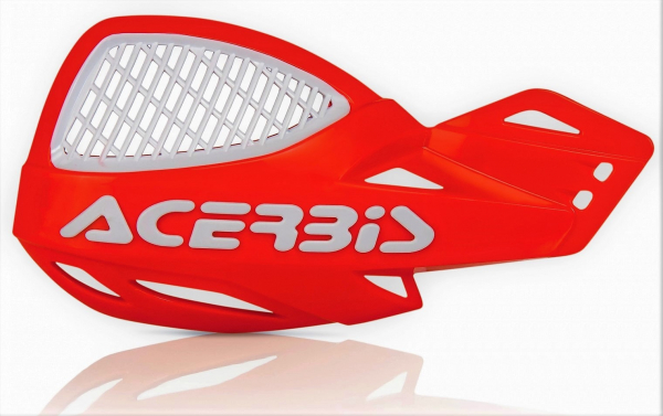 Acerbis ACERBIS HANDGUARDS UNIKO VENTED ORANGE 2016 WHITE
