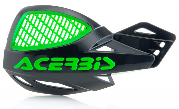 ACERBIS HANDGUARDS UNIKO VENTED BLACK GREEN 9846.325