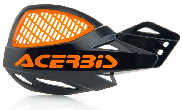 Acerbis ACERBIS HANDGUARDS UNIKO VENTED BLACK ORANGE