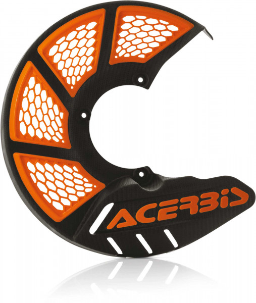 Acerbis ACERBIS X-BRAKE 2.0 DISC COVER MINI BIKE BLACK-ORANGE