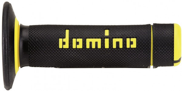 Domino DOMINO GRIPS MX A020 HALF WAFFLE YELLOW BLACK