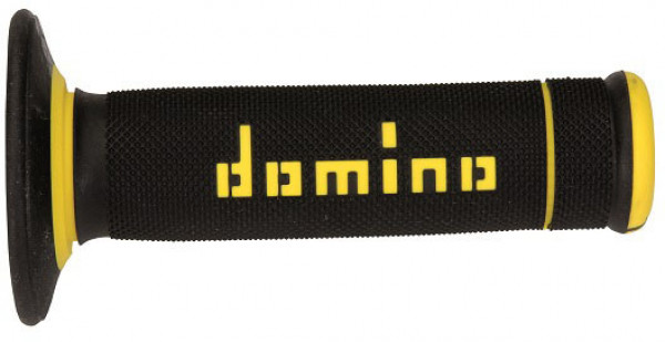 DOMINO GRIPS MX A190 SLIM BLACK YELLOW 9041Y