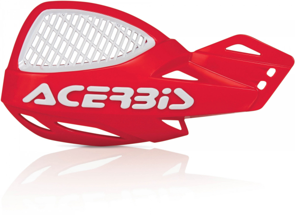 Acerbis ACERBIS HANDGUARDS UNIKO VENTED RED WHITE