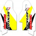 BLACKBIRD DECALS LOWER FORK SUZUKI RMZ450 RMZ250 RM125 RM250 B5325