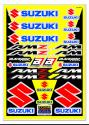 BLACKBIRD DECAL UNIVERSAL SUZUKI RMZ RM STICKER SHEET KIT B5329