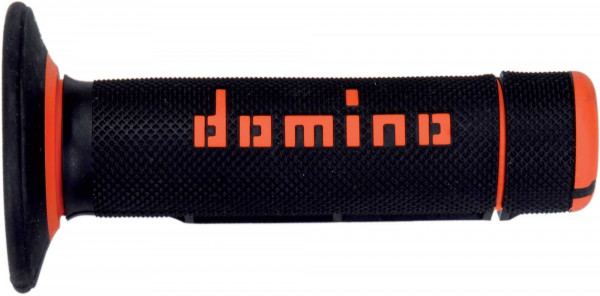 Domino DOMINO GRIPS MX A020 HALF WAFFLE ORANGE BLACK