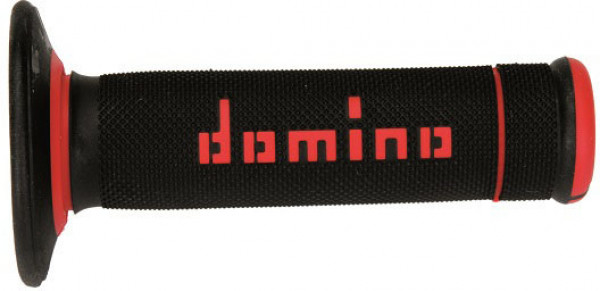DOMINO GRIPS MX A190 SLIM BLACK RED 9041R