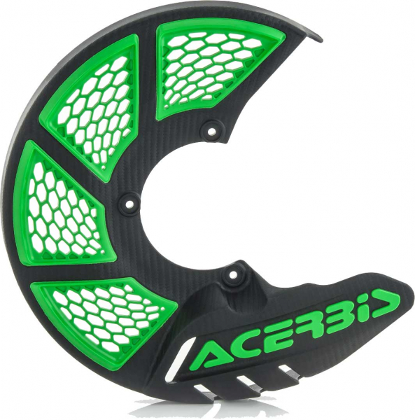 ACERBIS X-BRAKE 2.0 DISC COVER BLACK GREEN 21846.325