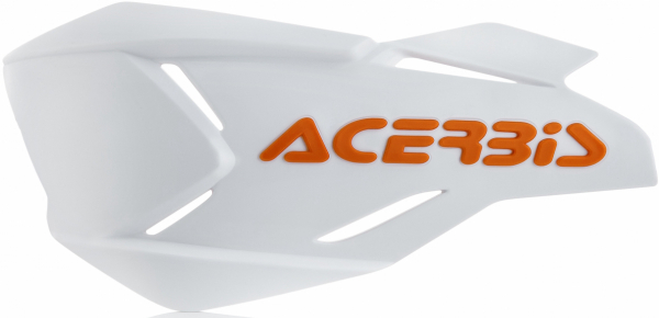 Acerbis ACERBIS HANDGUARDS X-FACTORY SPOILERS WHITE ORANGE