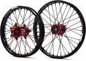 KITE WHEELS SPORTS SUZUKI RMZ 450 05-19 BLACK SPOKES 403073091R