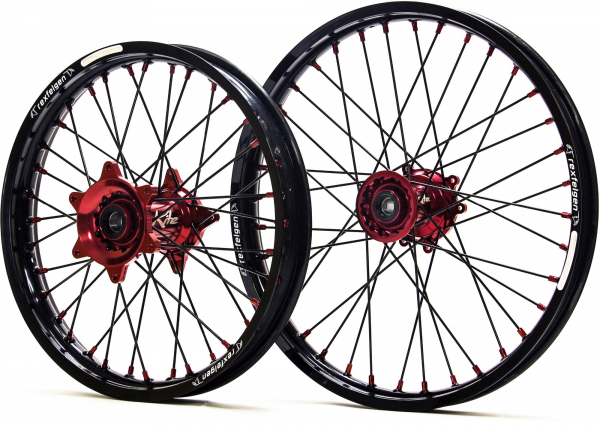 Kite Performance KITE WHEELS SPORTS SUZUKI RMZ 450 05-19 BLACK SPOKES