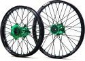 KITE WHEELS SPORTS KX 250 03-08 KXF 450 06-18 BLACK SPOKES 401071091G