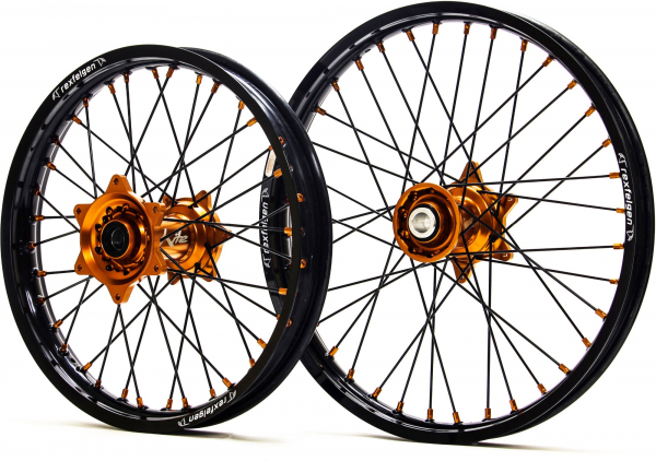 Kite Performance KITE WHEELS SPORTS EXC EXCF 03-19 FE TE 14-19 BLACK SPOKES