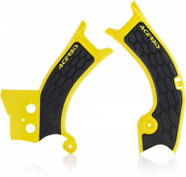 ACERBIS X-GRIP FRAME GUARDS RMZ 250 19-20 450 18-20 YELL-BLK 23070.279