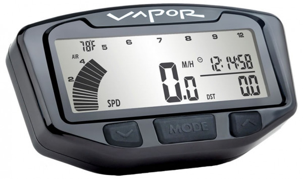 Trail Tech TRAIL TECH VAPOR DIGITAL SPEEDO GAUGE MULTI FIT 704-900