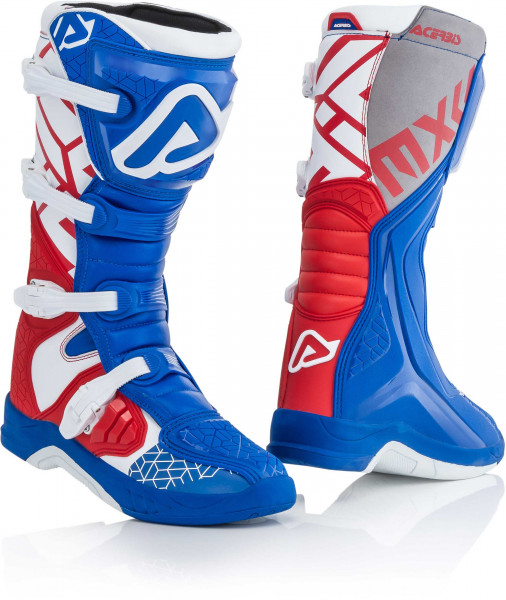 ACERBIS BOOTS X-TEAM RED BLUE WHITE 42 42 22999.344.042