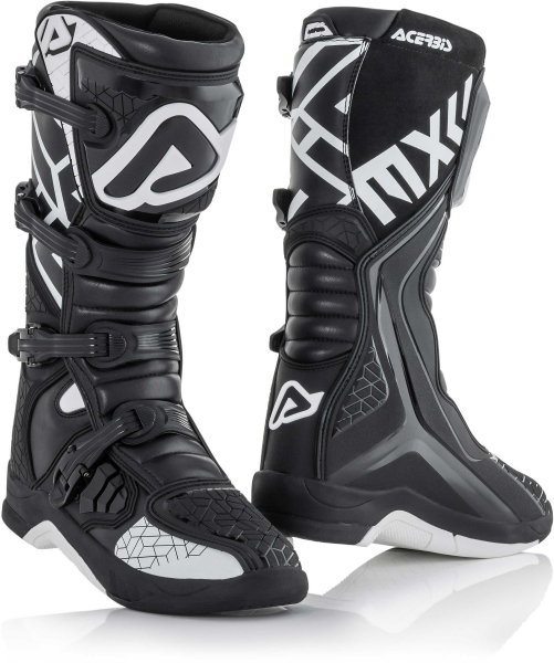 ACERBIS BOOTS X-TEAM BLACK WHITE 45 45 22999.315.045