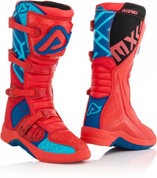 ACERBIS BOOTS X-TEAM BLUE RED 45 45 22999.253.045
