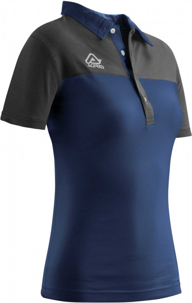 ACERBIS POLO SHIRT LADIES BELATRIX BLUE SMALL Small 22189.040.062