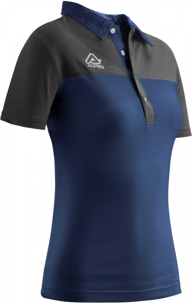 ACERBIS POLO SHIRT LADIES BELATRIX BLUE MEDIUM Medium 22189.040.064
