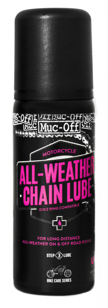MUC-OFF MOTORCYCLE CHAIN LUBE ALL WEATHER 50ml 638