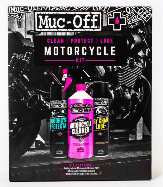 MUC-OFF MOTORCYCLE CLEAN PROTECT AND LUBE KIT 672