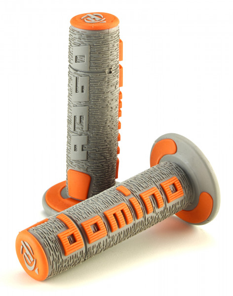 DOMINO GRIPS MX A360 COMFORT GREY ORANGE A360ORGR