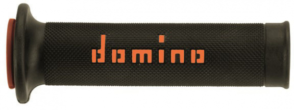 Domino DOMINO GRIPS ROAD A010 SLIM BLACK ORANGE