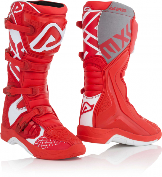 ACERBIS BOOTS X-TEAM RED WHITE 46 46 22999.343.046