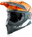ACERBIS HELMET X-RACER VTR ORANGE GREY Small 23444.207.062