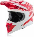 ACERBIS HELMET X-RACER VTR RED WHITE Small 23444.343.062